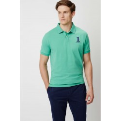 Polo manches courtes homme Hackett - Aston Martin NEWCLASSIC