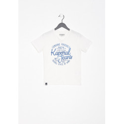 T-shirt Manches Courtes Enfant Kaporal MAPID OFFW