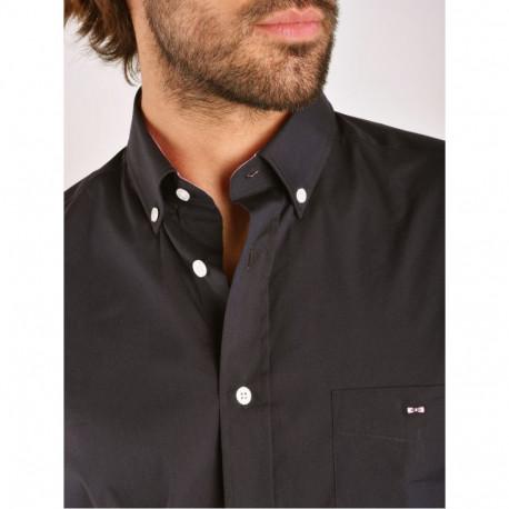 chemise manches longues homme eden park stretcmblf marine habiz. Black Bedroom Furniture Sets. Home Design Ideas