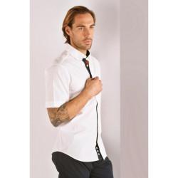 Chemise manches courtes pour homme Eden Park  FANTAISMBC