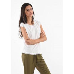 Tee-shirt manches courtes pour femme Kaporal FEAR