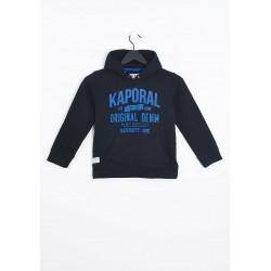 Sweat de marque pour enfant Kaporal MIBE BLACK