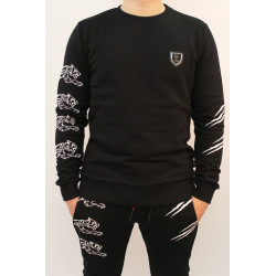 Sweat homme Philipp Plein Sport RESPECT 02