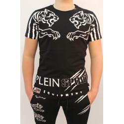 T-shirt manches courtes homme Philipp Plein Sport SPINEBUSTE