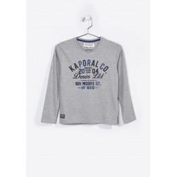 T-shirt manches longues enfant Kaporal NERUG GREY