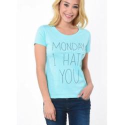 T-shirt manches courtes femme Kaporal APION ICE