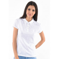 Polo manches courtes femme Kaporal FURIE WHIT