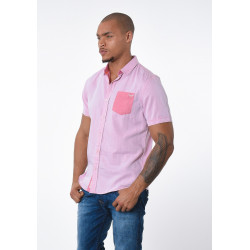 Chemise manches courtes homme Kaporal DYNO APRIC
