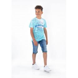 T-shirt manches courtes enfant Kaporal MUV AQUASK