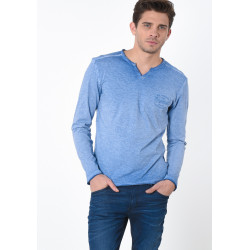 T-shirt manches longues homme Kaporal TING JEANS