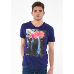 T-shirt manches courtes homme Kaporal CABOO PATR