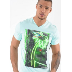 T-shirt manches courtes homme Kaporal CABOO YUCC