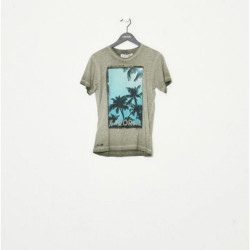 T-shirt manches courtes enfant Kaporal MEWAR TREI