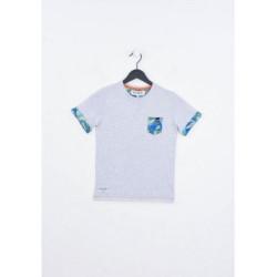 T-shirt manches courtes enfant Kaporal MEPI GREY