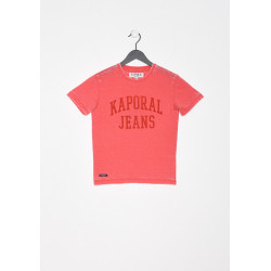 T-shirt manches courtes enfant Kaporal MERLO SANG