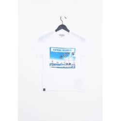 T-shirt manches courtes enfant Kaporal MOREP WHIT