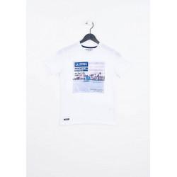 T-shirt manches courtes enfant Kaporal MERAG WHIT