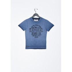 T-shirt manches courtes enfant Kaporal MEANS NORT