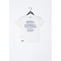T-shirt manches courtes enfant Kaporal MISSA OFFW