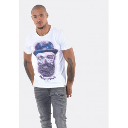 T-shirt manches courtes homme Kaporal POPOK WHIT