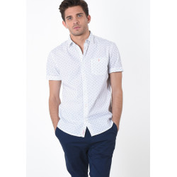 Chemise manches courtes homme Kaporal DAWN WHITE