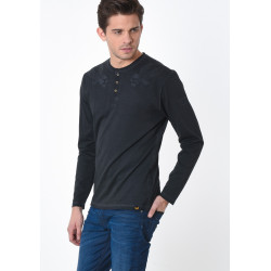 T-shirt manches longues homme Kaporal TWIN CARBO