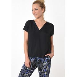 T-shirt manches courtes femme Kaporal FLASH BLAC
