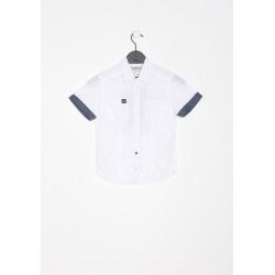 Chemise manches courtes enfant Kaporal MAPUL WHIT