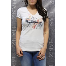 T-shirt Manches Courtes Pepe Jeans VALERIE