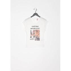 T-shirt manches courtes enfant Kaporal BELPI WHIT