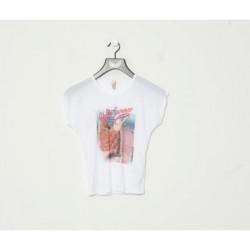 T-shirt manches courtes enfant Kaporal BLAR WHITE