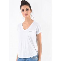 T-shirt manches courtes femme Kaporal ARGUS WHIT