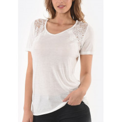 T-shirt manches courtes femme Kaporal SARAH WHIT