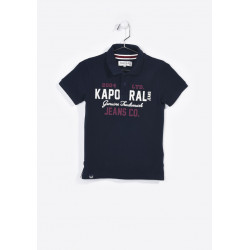 Polo manches courtes enfant Kaporal NIPIG NAVY