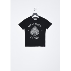T-shirt manches courtes enfant Kaporal MAVID BLAC