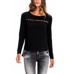 T-shirt manches longues femme Salsa 118657 JER