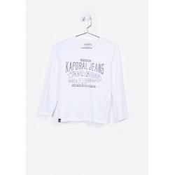 T-shirt manches longues enfant Kaporal NARK OPTIC