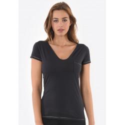 T-shirt manches courtes femme Kaporal SALUD CARB