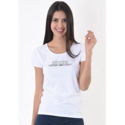 T-shirt manches courtes femme Kaporal SIXTI WHIT