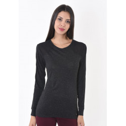 T-shirt manches longues femme Kaporal BRANT DARK