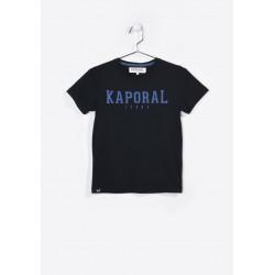 T-shirt manches courtes enfant Kaporal NUDO BLACK
