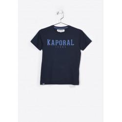 T-shirt manches courtes enfant Kaporal NUDO NAVY