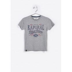T-shirt manches courtes enfant Kaporal NAKER GREY