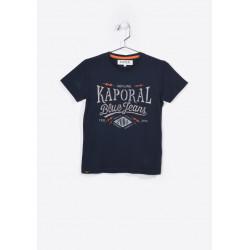 T-shirt manches courtes enfant Kaporal NAKER NAVY