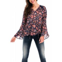T-shirt manches longues femme Salsa 119334