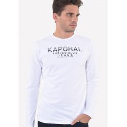 T-shirt manches longues homme Kaporal PONIO WHIT