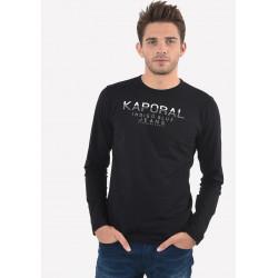 T-shirt manches courtes homme Kaporal PONIO BLAC