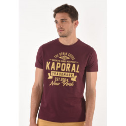 T-shirt manches courtes homme Kaporal MEVER WINE
