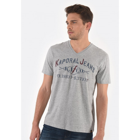 T-shirt manches courtes homme Kaporal MAKAO GREY