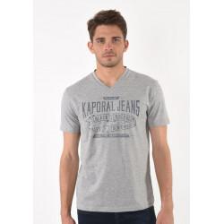 T-shirt manches courtes homme Kaporal MAKER GREY